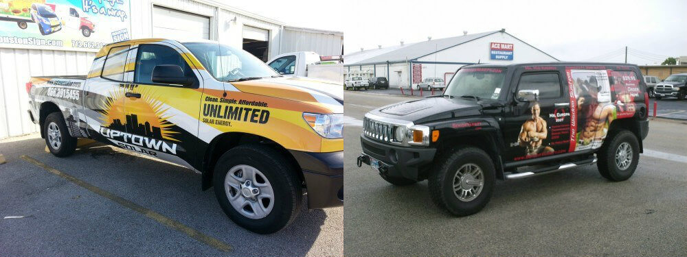 Expert Vehicle Wraps in Houston | Auto Wraps by Houston Sign