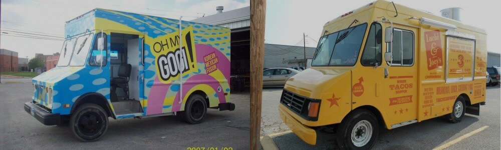 food truck wrap design