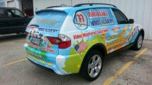 commercial car wraps - Houston