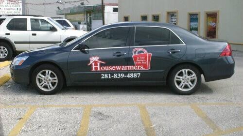 vehicle fleet rebranding - Houston, TX