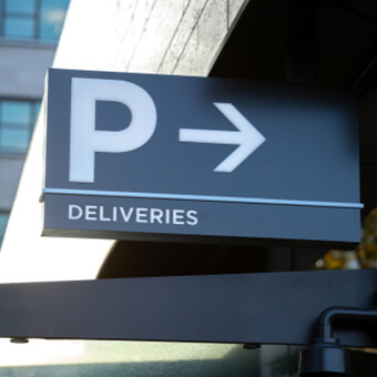 deliveries parking regulations