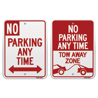 no parking lot signage tips guidelines