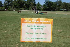 golf tee box sponsor signs