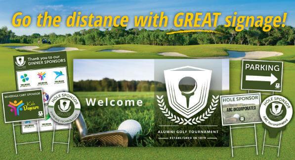 golf tournament sponsor ideas