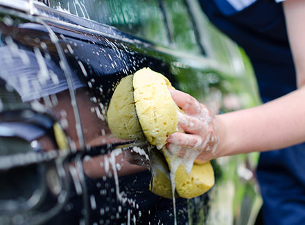 car wash fundraiser signs - Houston