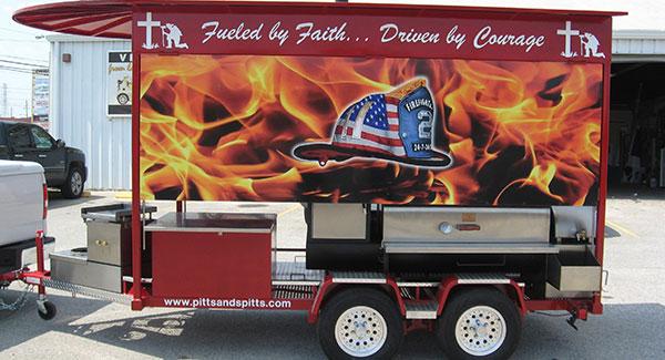 trailer advertising wraps