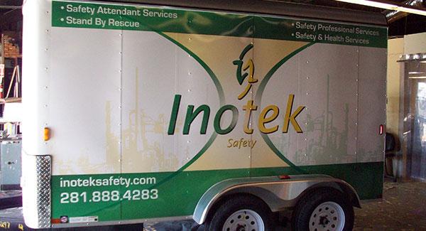 trailer wraps - Houston, Texas