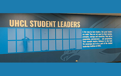 custom wall wraps for schools Houston