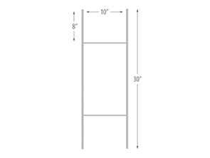 buy wire stakes for signs