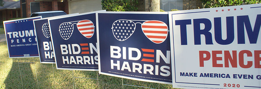 lawn signs Houston