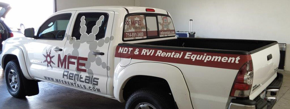 commercial fleet vehicle wraps - Houston