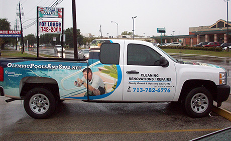 fleet vehicle wraps - Houston