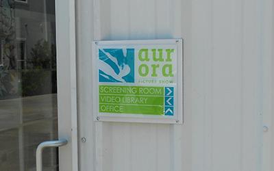 acrylic building signs - Houston