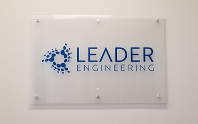 acrylic business signs - Houston