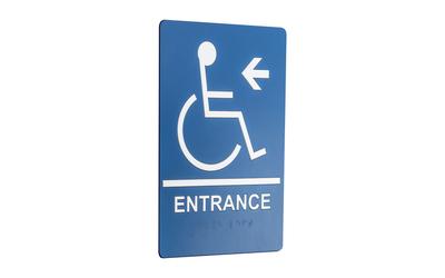 ada entrance sign