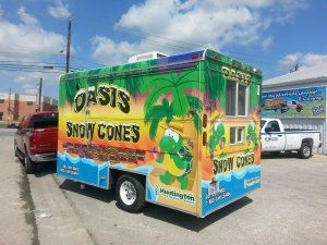truck wrap oasis