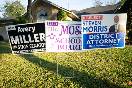Houston Sign Campaign Signs